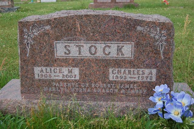 stock  alice m  1908   2007